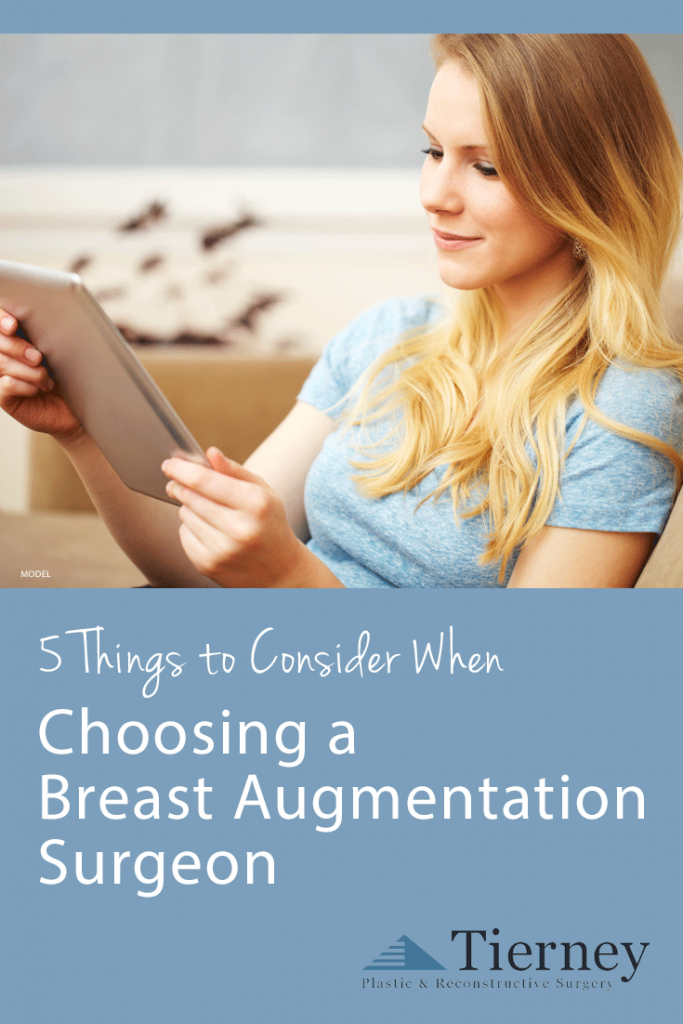 Tips for choosing a breast augmentation surgeon in Nashville.